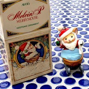 🐭Vintage🐭1982 Avon Holiday Keepsake Ornament